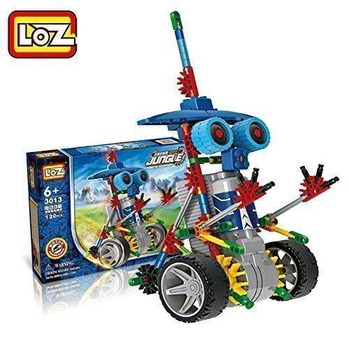 Motorial Alien Robot Loz 174 Robotic Building Set Block