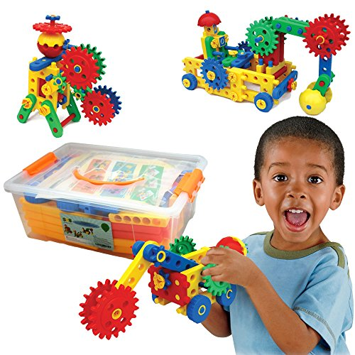 Imagination Toys For Boys : Educational toys ultimate blocks gears by eti for