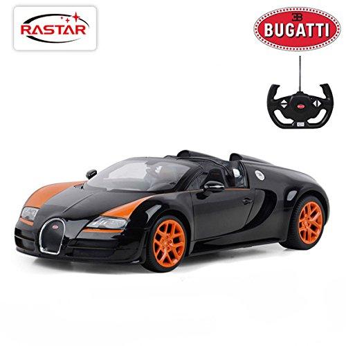 Radio Remote Control 1/14 Bugatti Veyron 16.4 Grand Sport ...