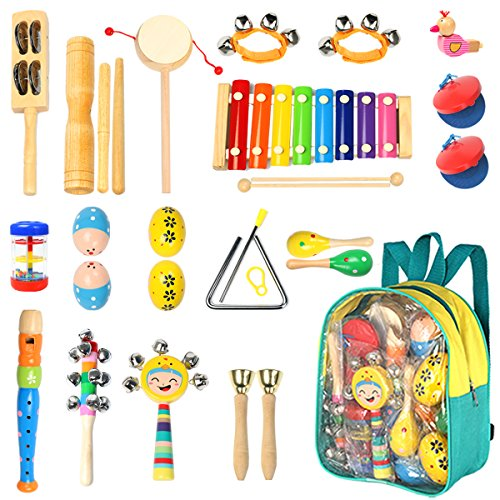 Musical Toys For Toddlers Boys : Toddler musical instruments ehome types pcs wooden