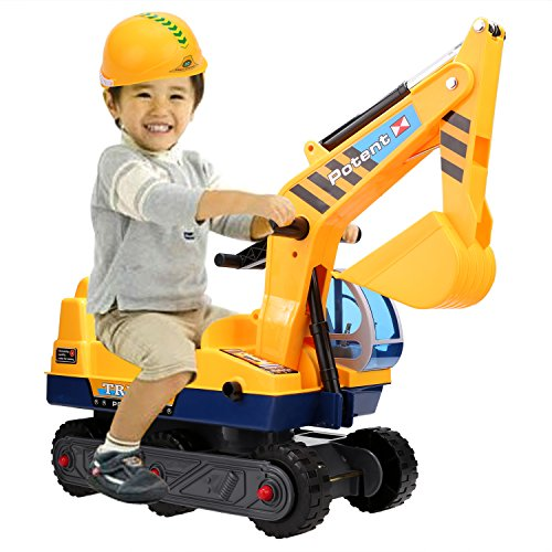 Cat Construction Toys For Toddlers : Funmily ride on excavator pretend play construction truck