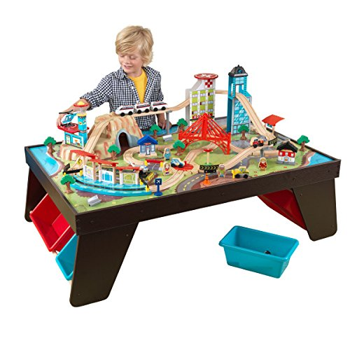 Kidkraft Aero City Train Set Amp Table Christmas Elf Shop